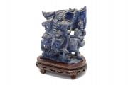 Chinese Lapis Lazuli Carving
