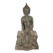 """5/"""" Tibetan Buddhism alloy gilt mikky Religious rites Ruyi Treasure Vase statue"""