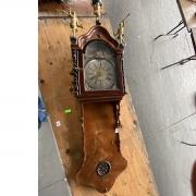 Dutch Staartklok wall clock.