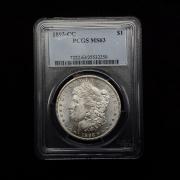 US 1893 CC Morgan Dollar