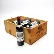 Two Crates 1970 Chateau Lafite Rothschild Bordeaux Wine (24 bottles).